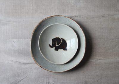 Vajillas artesanales de cerámica